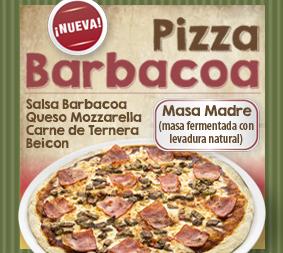 ¡Nueva Pizza Barbacoa!
