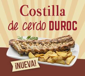 La Costilla de Cerdo, la estrella de la nueva carta de nuestros Restaurantes