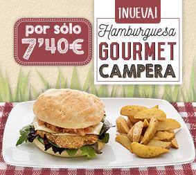 ¡Nueva Hamburguesa Gourmet Campera!