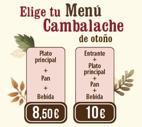 Nuevo Menú de Otoño en los Restaurantes Cambalache