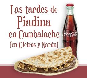 Las tardes de Piadina en Cambalache