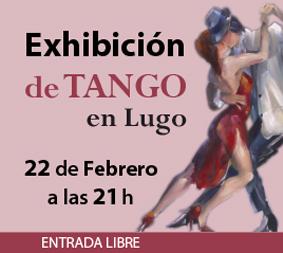 Exhibición de Tango en el Restaurante Cambalache de Lugo – 22 de febrero