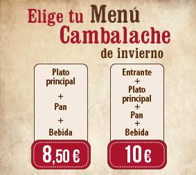 Nuevo Menú de Invierno en los Restaurantes Cambalache