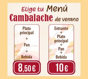 Nuevo Menú de Verano en los Restaurantes Cambalache